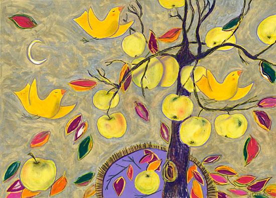 8. Winte Apple Moon
