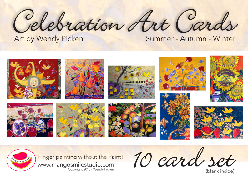 Card wrap summer-fall-winter