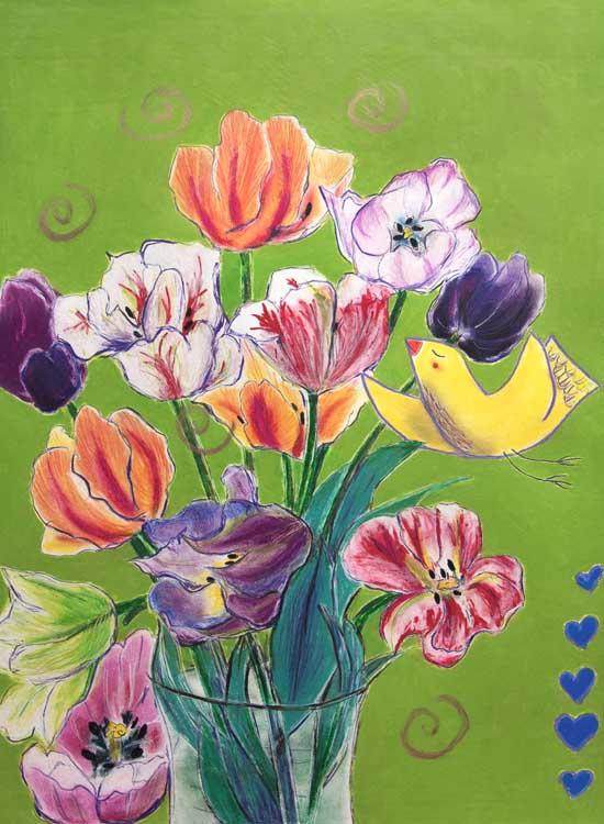 Passion Garden by Wendy Picken